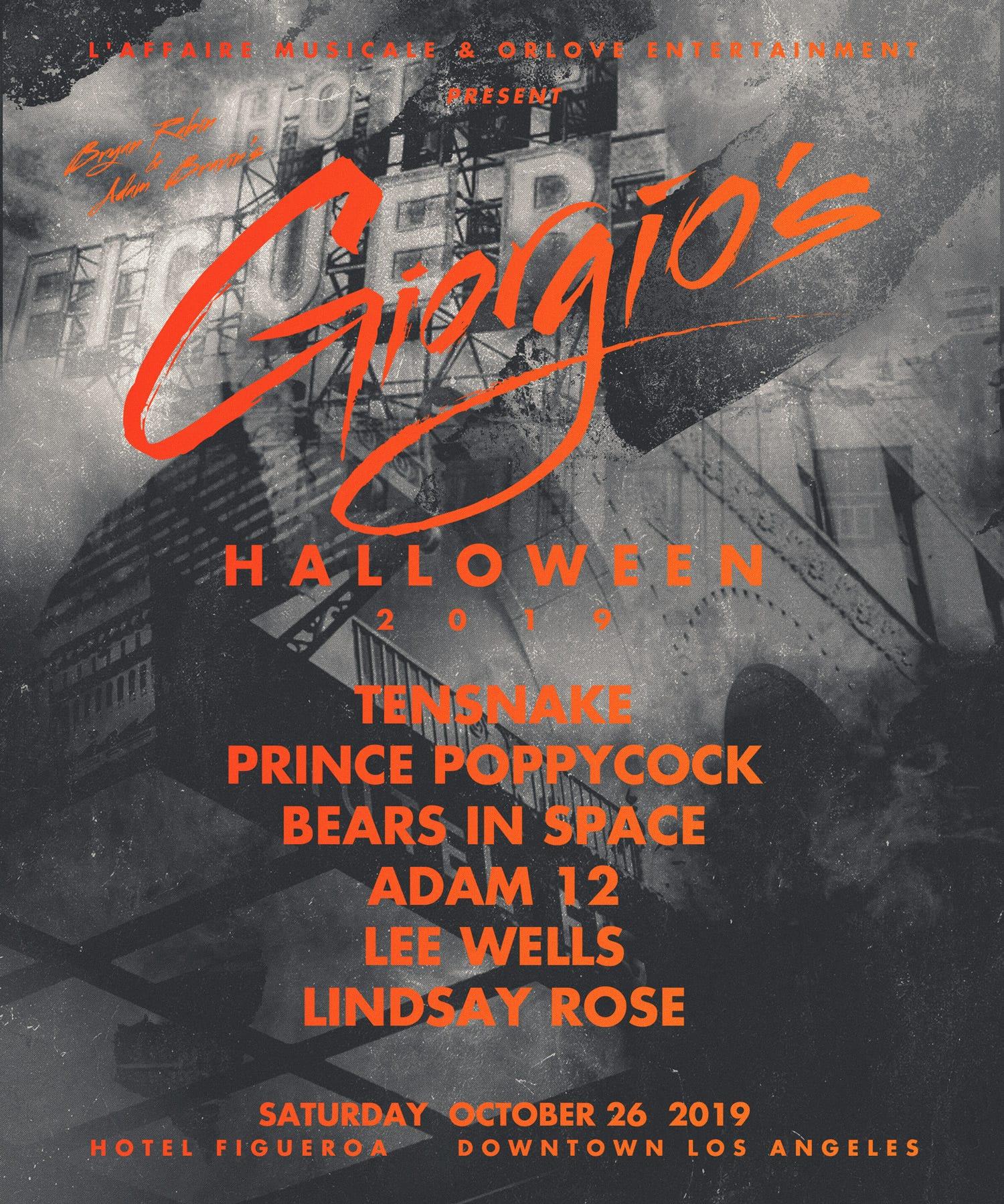 Giorgio's Halloween 2019